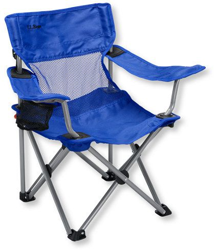 LL Bean Kid's Camp Chair $19.95 - for Cooper's next birthday gift (personalized)