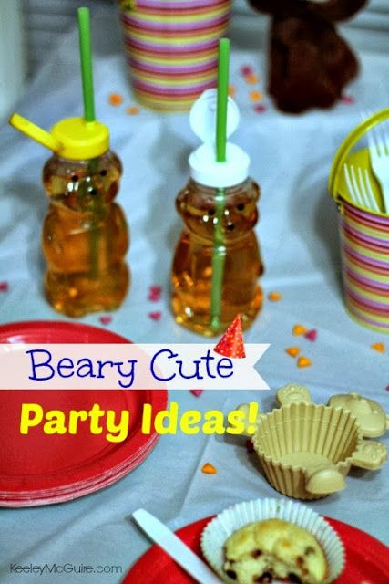 Keeley McGuire: Beary Special Birthday Ideas! {Bear Party Theme}