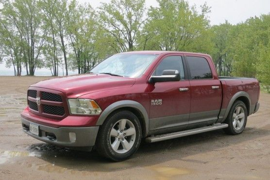 The Ram 1500 offers optional four-corner air suspension, which lets you lower the truck for easier access. It also hunkers down at higher speeds.
