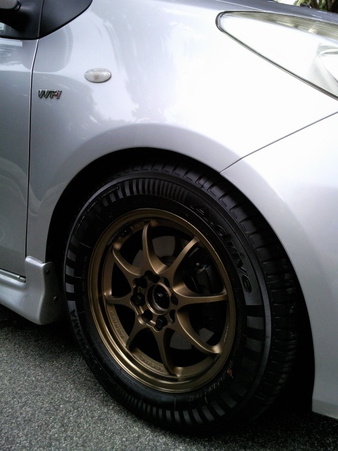 Please post pics of your Yaris with aftermarket rims here - Page 41 - Toyota Yaris Forums - Ultimate Yaris Enthusiast Site