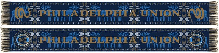 """Start a new tradition with our """"Ugly"""" Holiday MLS Scarves and be the life of the party. Ugly sweaters are so last year!! Officially Licensed MLS Merchandise. 100% acrylic, jacquard knit scarf."""