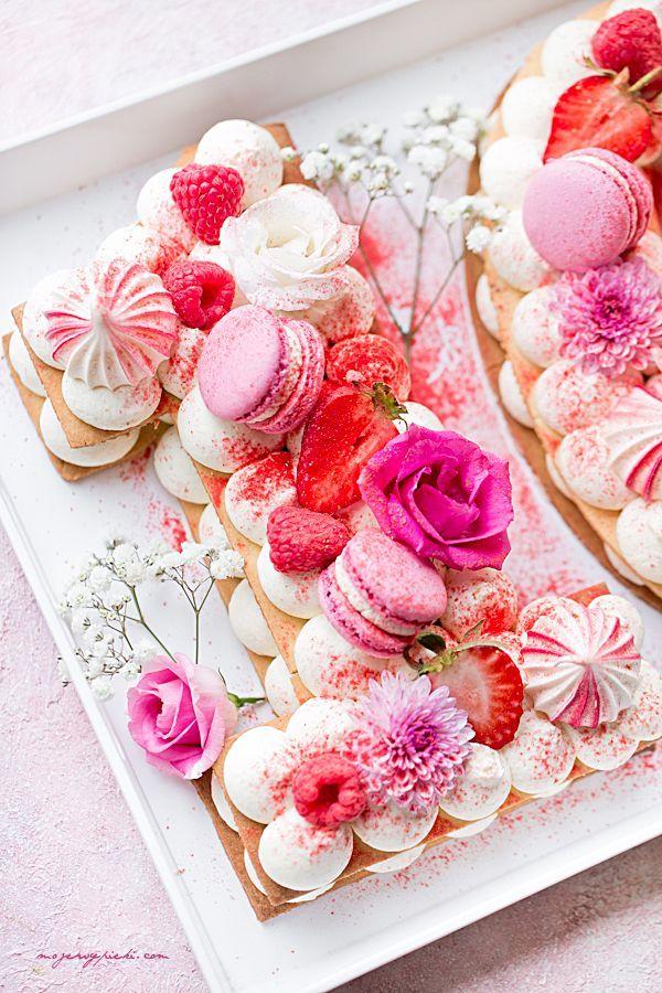 Number cake - torcik z kruchego ciasta | Moje Wypieki