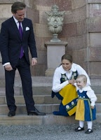 MYROYALS  FASHİON: Swedish Royal Family Celebrates National Day-Princess Estelle with aunt Princess Madeleine and almost-uncle Chris O'Neill