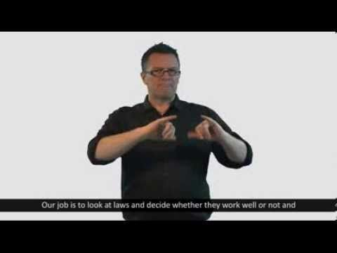 The ALRC Law Reform Process - Auslan - YouTube