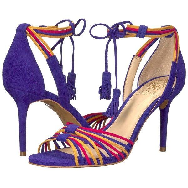 Damen Pumps rot und Blau 3940 Echt Leder