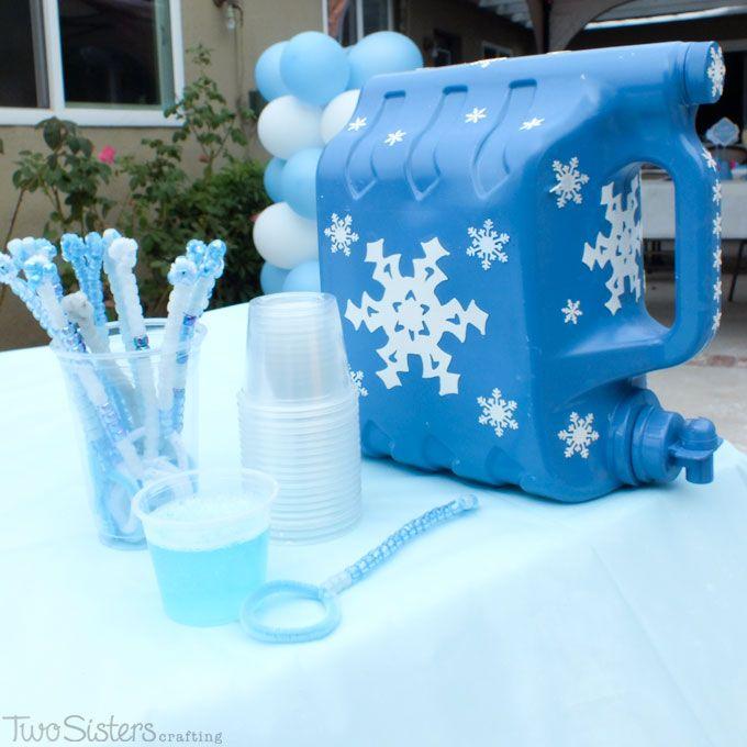 Disney Frozen Party Bubble Station