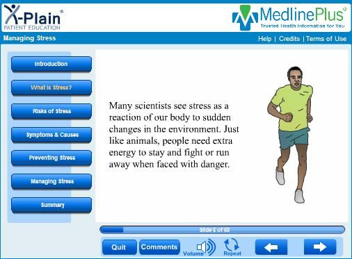 Interactive Health Tutorials: SPORT FITNESS https://www.nlm.nih.gov/medlineplus/sportsfitness.html  Take a look also at: Costs of Smoking http://www.tobaccoatlas.org Other: AA Worldwide http://aa-intergroup.org/  Prevention Hub http://preventionhub.org/countries IACP https://iacp.memberclicks.net/  SHE http://www.schools-for-health.eu/she-network/links/international-organizations