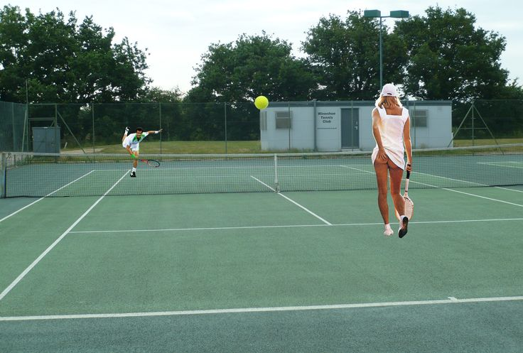 Wivenhoe becomes latest town to be hit by tennis fever  www.facebook.com/katieperchanski @WivenhoeWatcher