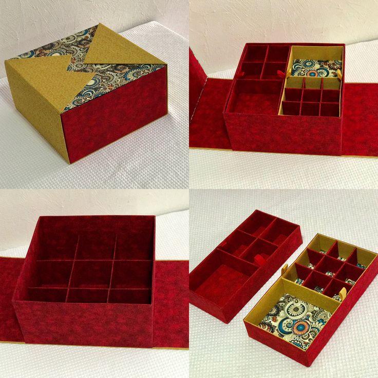 Caixa organizadora para joias/bijuterias