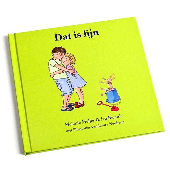 Dat is fijn - Dit boekje is geschikt om met jonge kinderen te kunnen praten over verschillende soorten lichamelijk contact. Kinderen leren grenzen aan te geven.