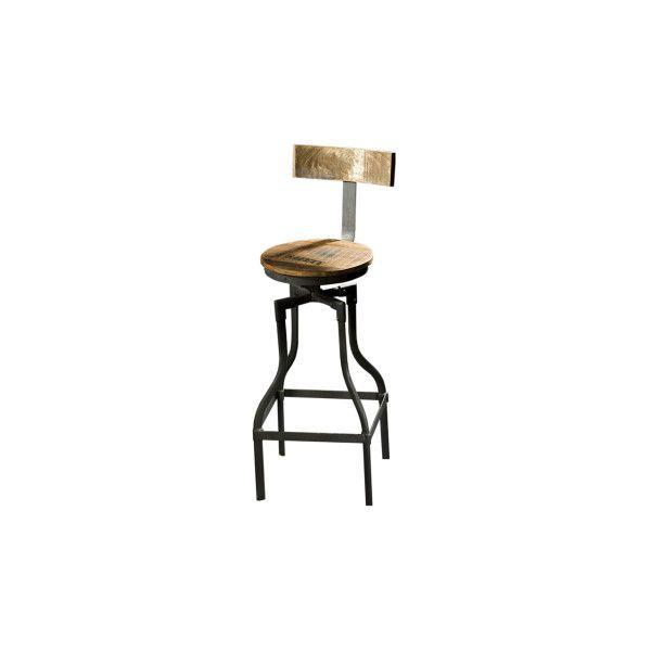 Barkruk Xin is een stoere kruk met een industriële look. De barkruk is een combinatie van afgelakt massief acacia hout met zwart metaal. Barkruk Xin is een van de meubelen uit de ruime Eleonora collectie.