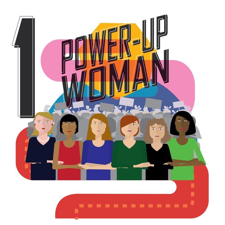 PowerUpWoman  by Noa Ward