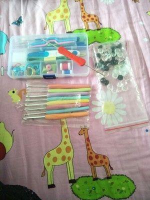Конфеты цвета Радуга Мягкая ручка вязания крючком Kit DIY ткачество инструмент Limited Доставка - Taobao