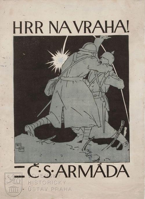 Vojtěch Preissig, Hrr na vraha – Čs. armáda, 1918