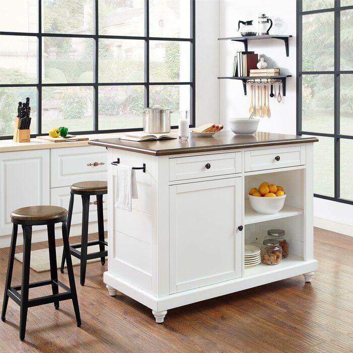 Gilchrist Kitchen Island Set Kitchen Renovation Freestanding Kitchen Island Freestanding Kitchen