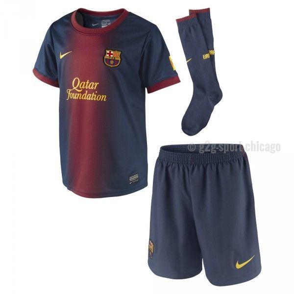 Messi Barcelona Uniform for little Boys