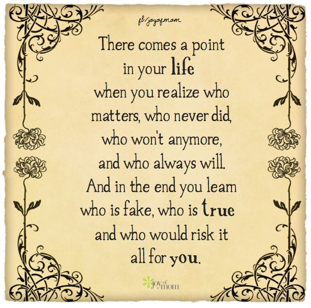 There Comes A Point In Life Quotes