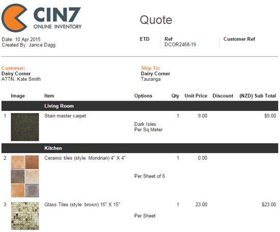 Flooring - Industries Cin7