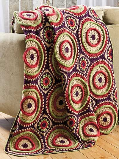 55 best Crochet Afghan & Throw Pattern Downloads images on Pinterest ...