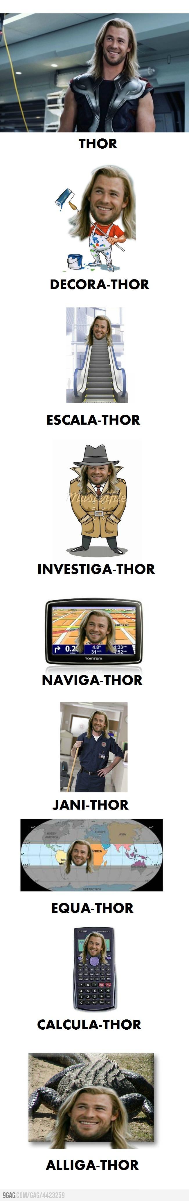 ThorJobs 9GAG - Fast: Thor Puns, Random, Funny Stuff, Funnies, Humor, Superhero