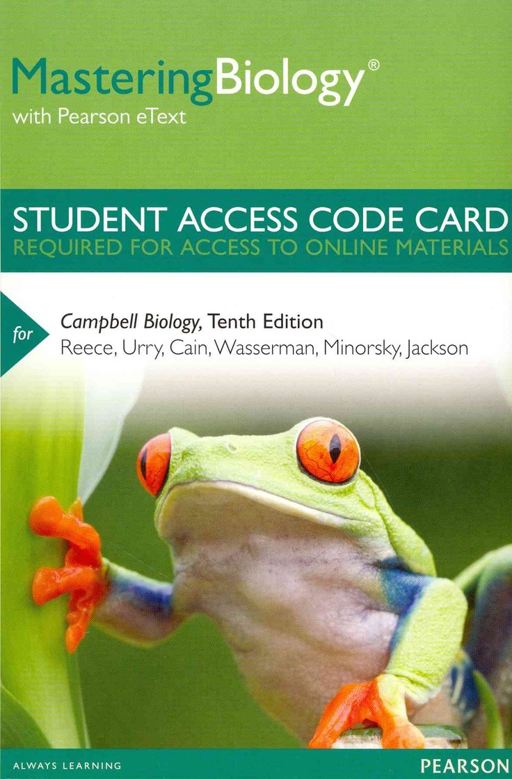 The 25 best campbell biology ideas on pinterest ap biology campbell biology masteringbiology access code with pearson etext fandeluxe Choice Image