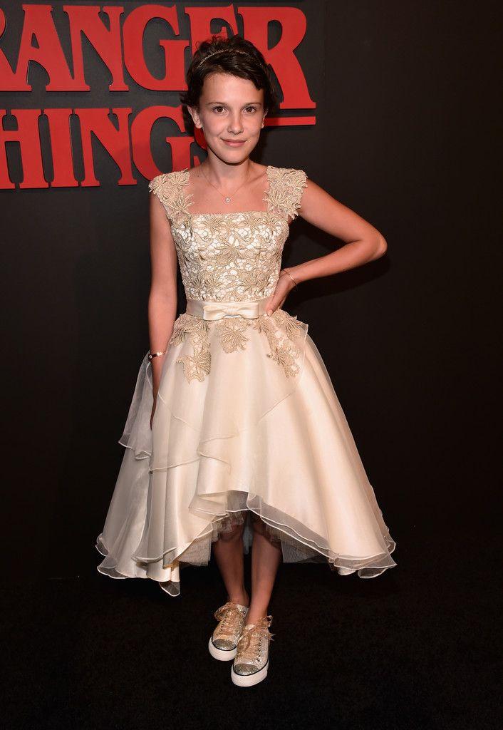 d2c12e4fa63e Millie at Stranger Things premiere season 1