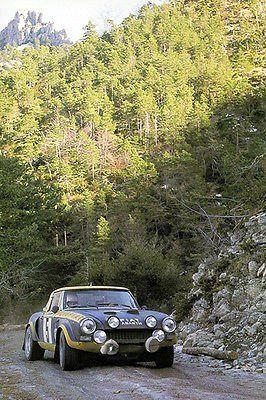 1976 FIAT Abarth 124 Rally Sport Spider - Monte Carlo - Photo Poster
