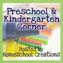 PreK and Kindergarten Apple Theme Ideas via Homeschool Creations