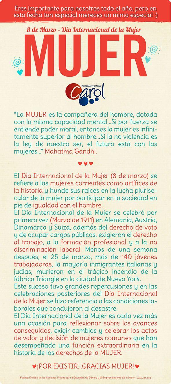 #DIY #HazloTuMismo Un poco de historia a puertas de una fecha tan especial…gracias por existir MUJER!!! -Joe-