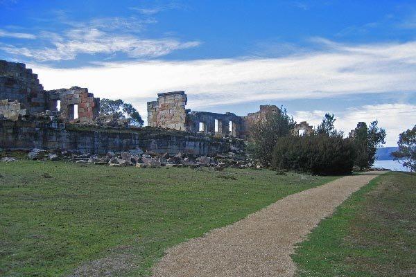 "Coal Mines Historic Site, Tasmania, Australia part of the Australian Convict Unesco designation - The most severe punishment that could be given to convicts would be to be sent to the ""Coal Mines."" These are those coal mines."
