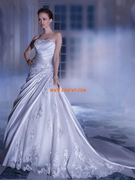 Hala Podzim Přírodní Svatební šaty 2014