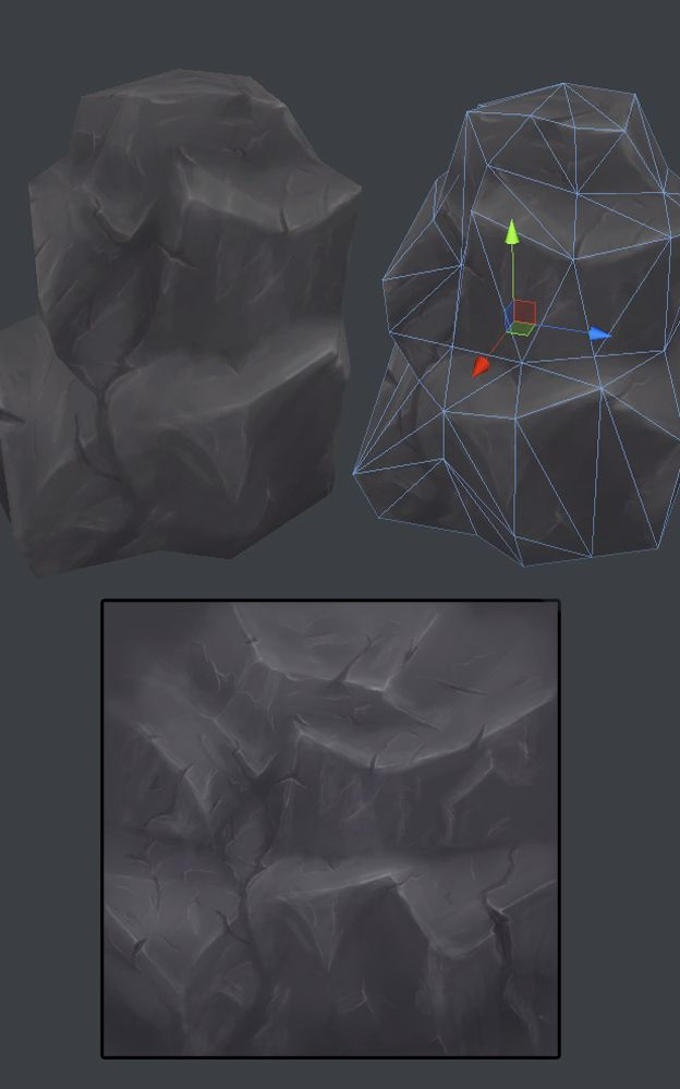 Help and feedback on hand painted enviroment - Polycount Forum