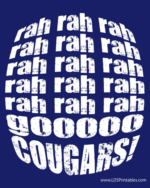 1000+ Images About Rise And Shout The Cougars Are Out! On