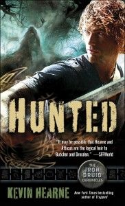 Hunted (The Iron Druid Chronicles, Book # 6). Narrated by Luke Daniels  http://audiobookjungle.com/