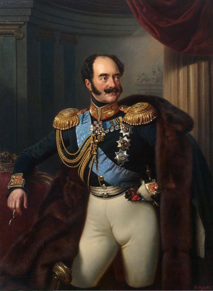 Le comte Nikolaï Vladimirovitch Adlerberg (1852, Musée de l'Ermitage, Saint-Pétersbourg) de Franz Kruger (1797-1857)