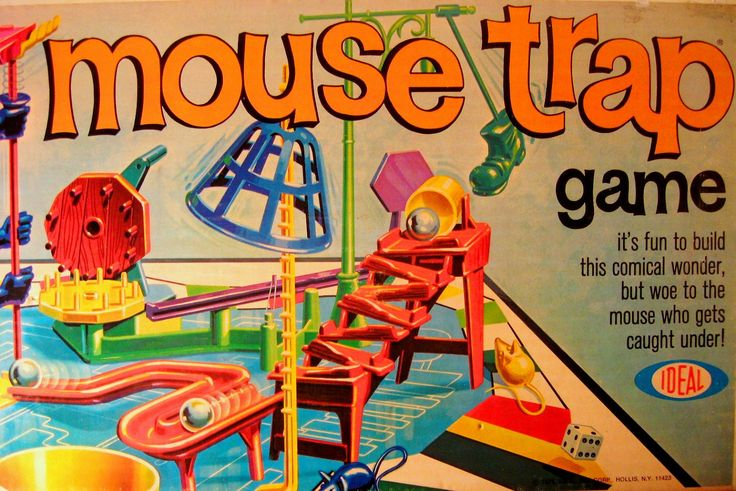 vintage games | Vintage 1975 Mouse Trap Game by rockettaco on Etsy