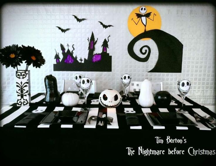 30 the nightmare before christmas - Halloween Christmas Decorations