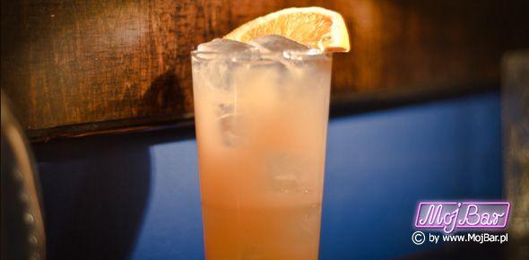 NIAGARA FALLS Smaczny i aromatyczny: wódka czysta - 40ml, grand marnier - 40ml, ginger ale - 80ml, cytryna sok - 20ml, syrop cukrowy - 10ml  Przepisy na drinki znajdziesz na: http://mojbar.pl/przepisy.htm