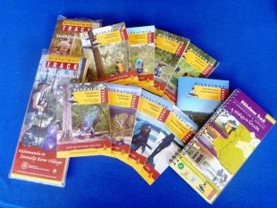 Guidebook 1 to 8 with Handbook plus all Maps and the Accommodation & Services Guide Combo   Bibbulmun Track