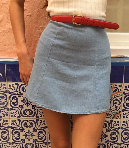 DENIM SKIRT TYPE waysify ✦⊱Pinterest/Instagram⊰✦ @Littlnutbrown ☾✨☽