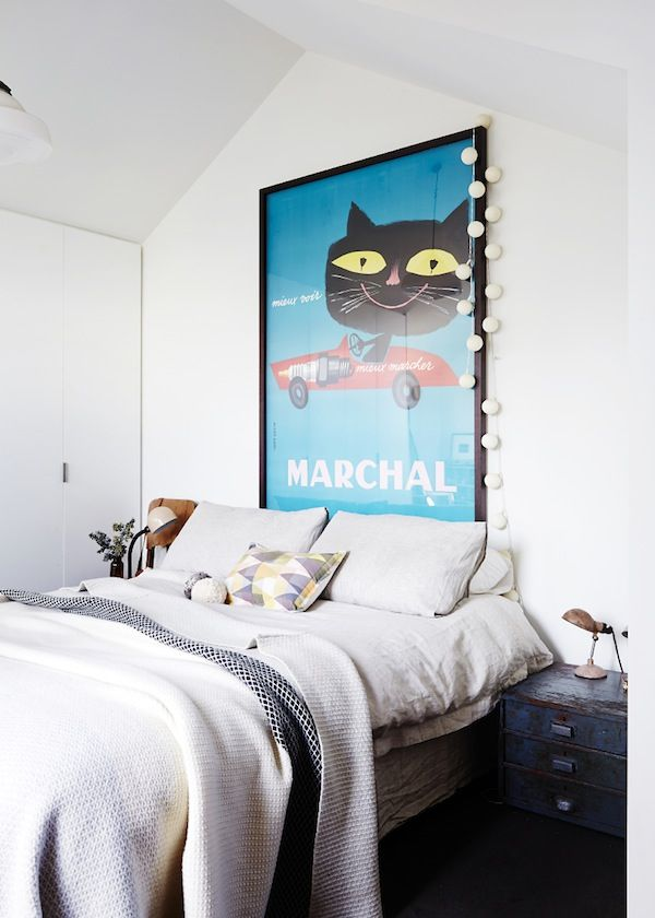 'Marchal Cat' vintage French poster from Galerie Monmartre