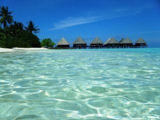 Water villas en las #maldivas