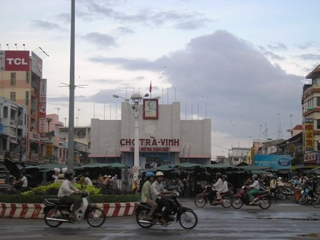 Tra Vinh - Vietnam (6 januari 2009)