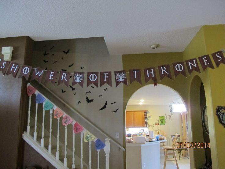 game of thrones baby shower - Google Search