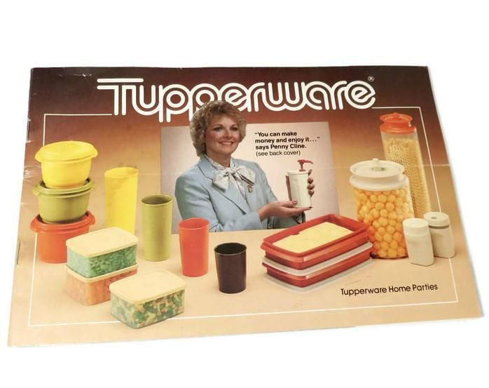 Vintage Tupperware 1980s Catalog