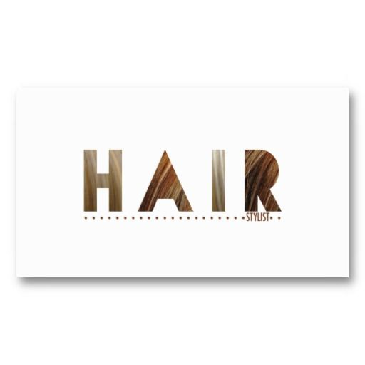 25 best business cards hair stylist images on pinterest for Hair salon business cards templates free