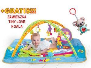 TINY LOVE MATA  GIMNASTYKA DLA BOBASA PLAC ZABAW TL120020 + GRATIS