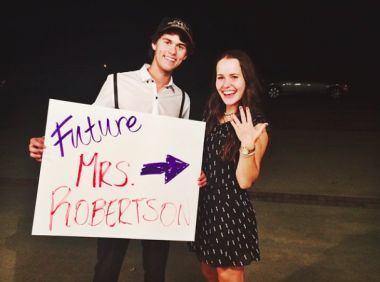 John Luke Robertson and Mary Kate McEacharn to hold wedding in June 2015