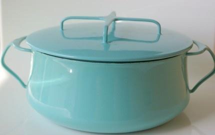 Dansk Enamel Pot: Kobenstyle dutch oven.