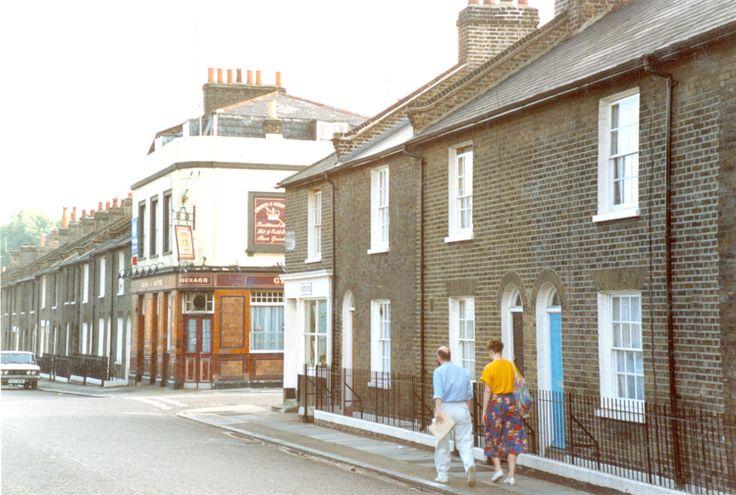 Friendly Street Deptford 1980's